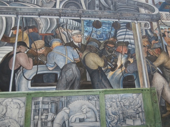 Art trails for Diego rivera ford mural