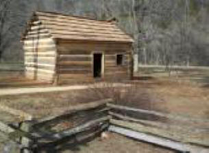 Knob Creek Cabin at Abraham Lincoln Birthplace National Historic Site