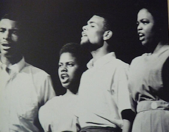 Photograph of the Freeedom Singers