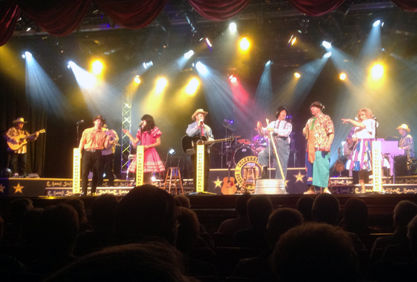 Baldknobbers perform in Branson Missouri