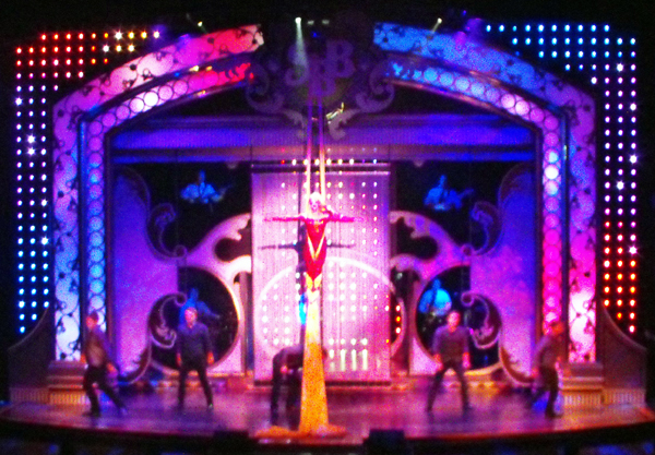 Janice Martin and the Showmen on Showboat Branson Belle in Branson Missouri