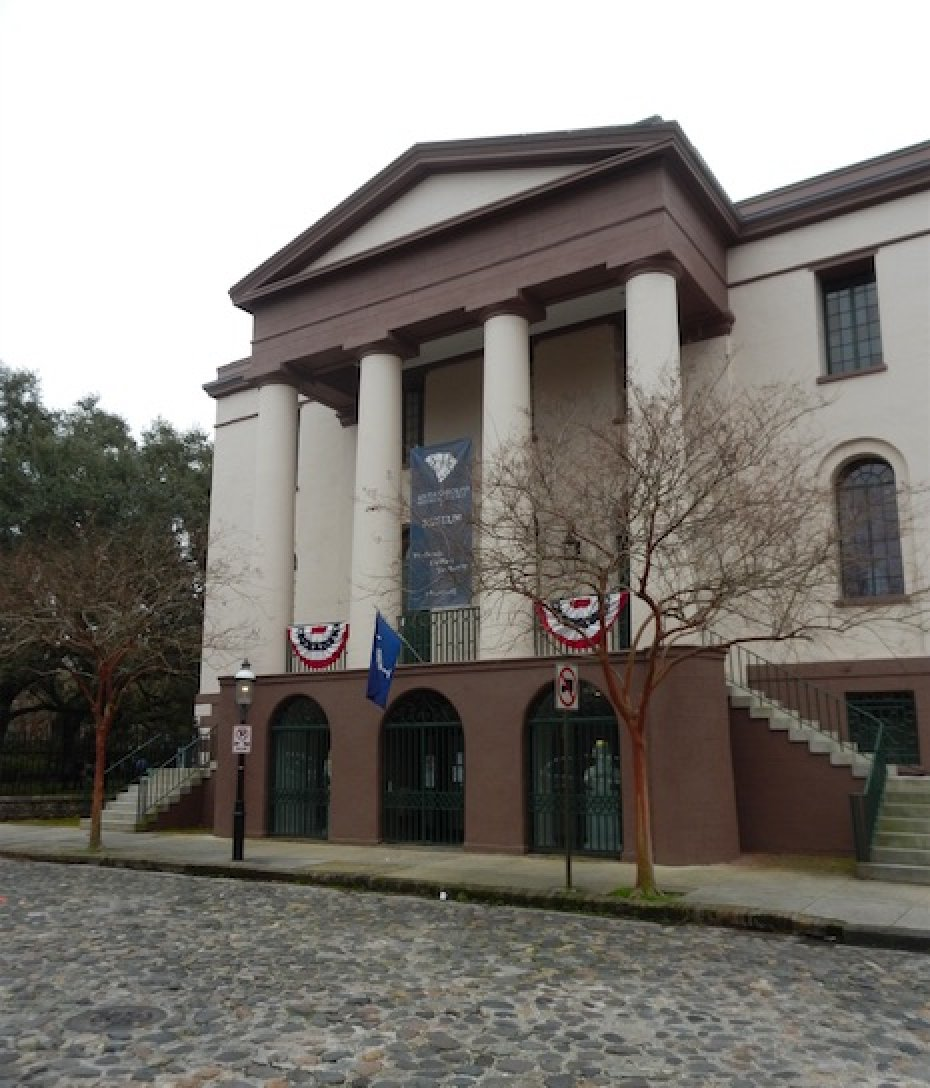 old exchange building in Charleston