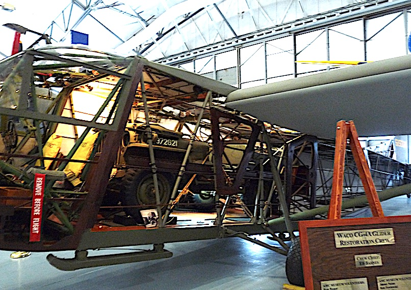 Air Mobility Command Museum cutaway of cargo plane