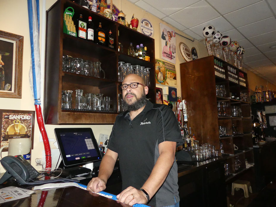 Bartender at  Hollerbach's Willow Tree Cafe in Sanford, FL