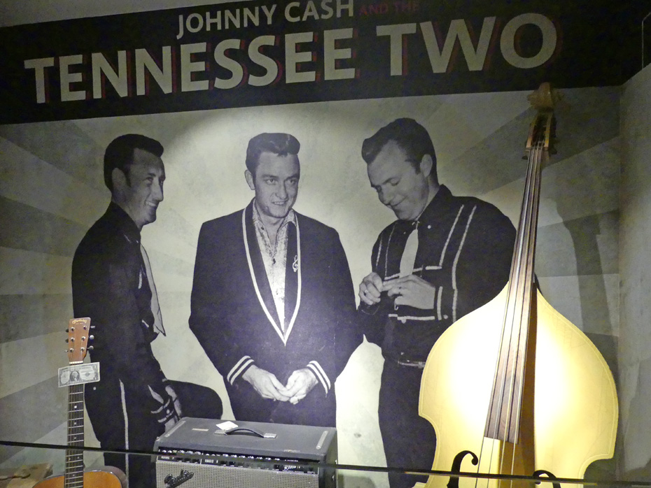 Exhibit in Johnny Cash museum of Tennesse 2