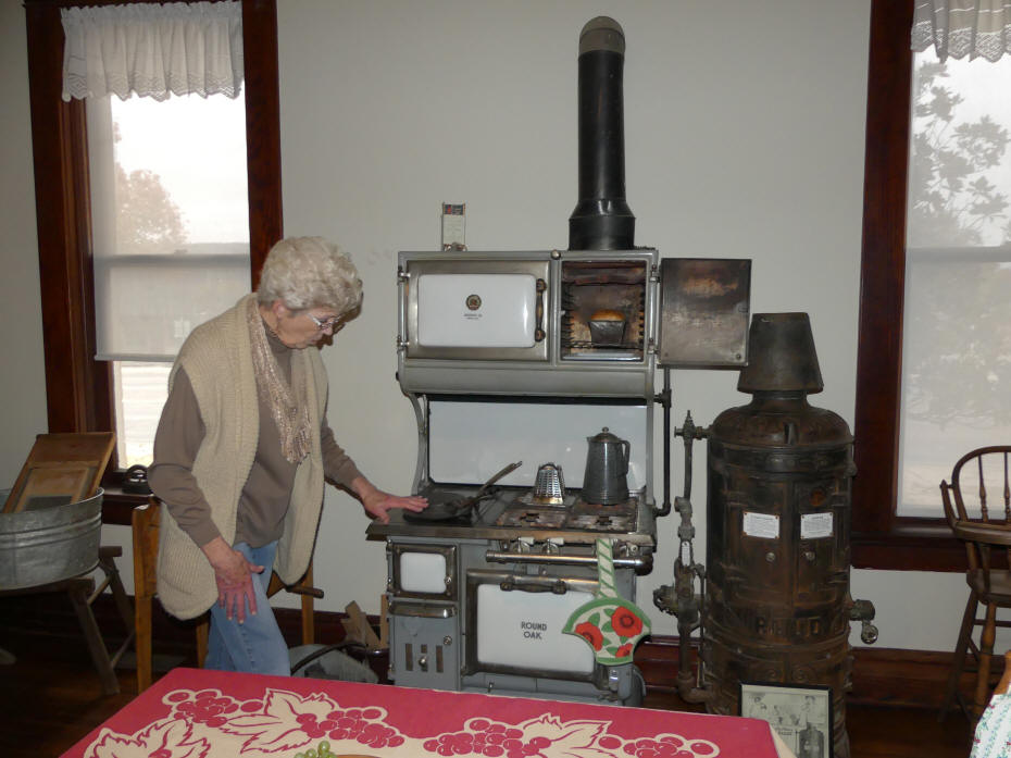 kitchen exhibit at Historical Center for Southeast New Mexico