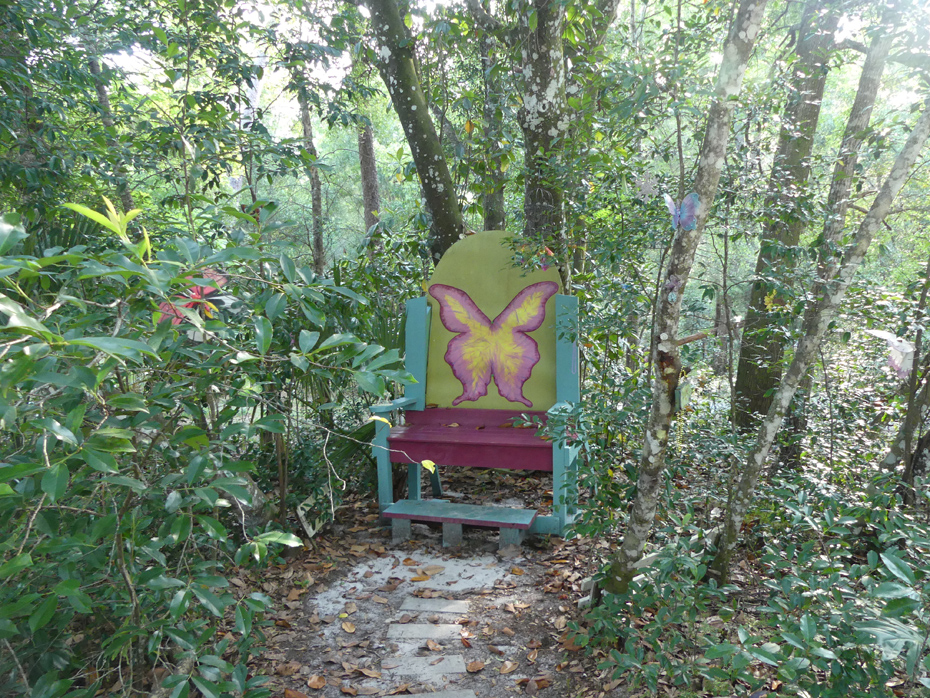 Farie chair in woods