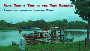 Tule Princess at dock in San Angelo, TX  used as header photo