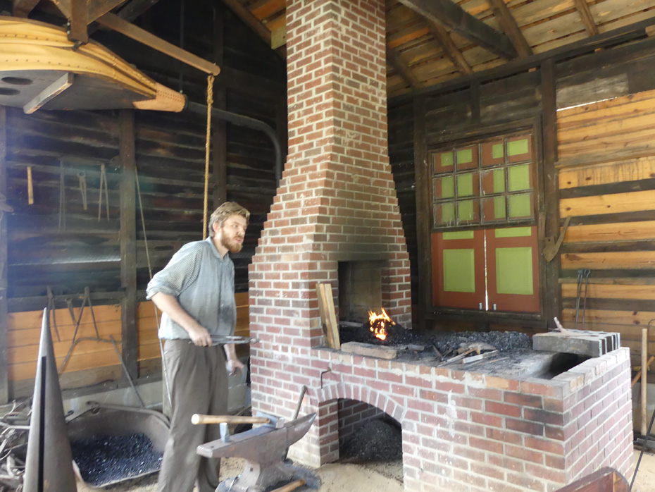 blacksmith at westville